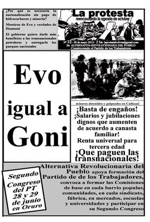 Periódico La Protesta N°31