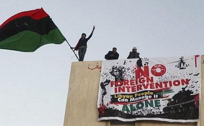 El pueblo rebelde de Libia contra Kadafi y la OTAN