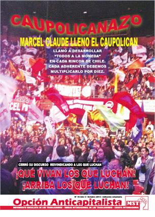 Periódico Opción Anticapitalista - Chile - Octubre 2013