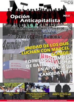Periódico Opción Anticapitalista - Chile -Junio 2013