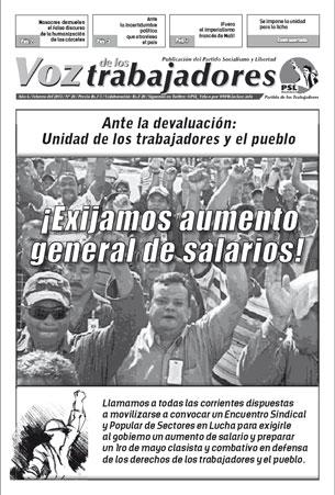 Voz de los Trabajadores - Febrero 2013