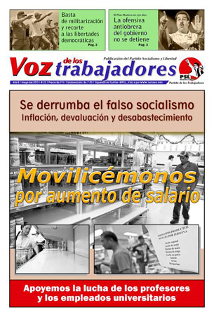 Periódico Voz de los trabajadores N°21