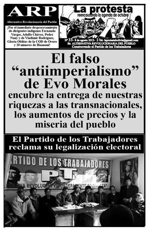 Periódico La Protesta N°33