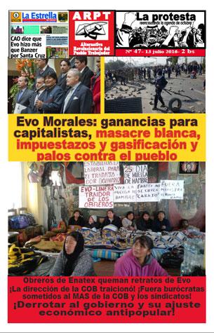 Periódico La Protesta - Número 47