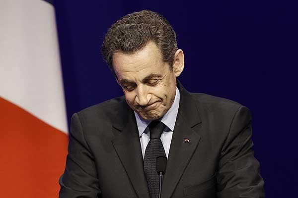 Sarkozy salió derrotado en las elecciones