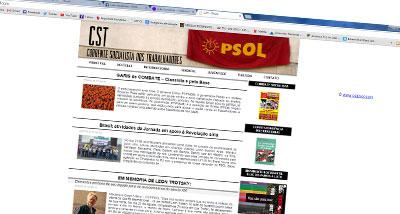 Sitio web - CST-PSOL