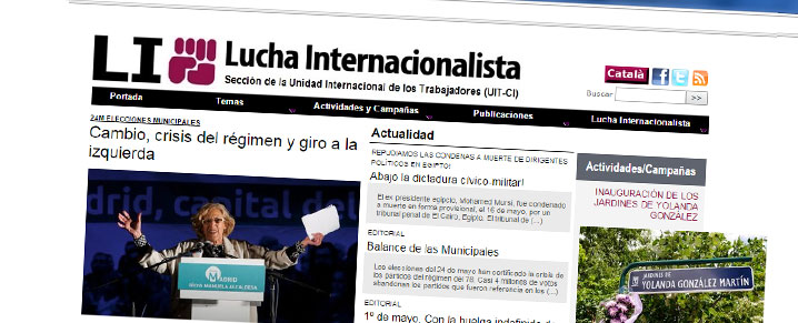 Lucha Internacionalista -Sección Oficial de la UIT-CI en el Estado Español
