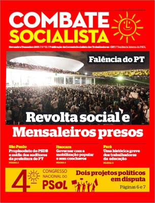 Combate Socialista N°52 - Noviembre 2013