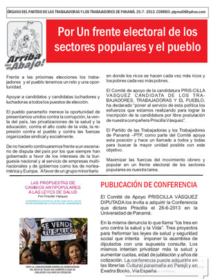 Periodico Arriba los de AbajoJulio 2013