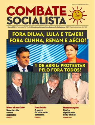 Combate Socialista N°71 - Marzo 2016