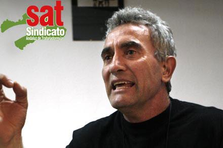 Exigimos la inmediata puesta en libertad de Diego Cañamero y el cese de la campaña de represión contra el Sindicato Andaluz de Trabajadores/as