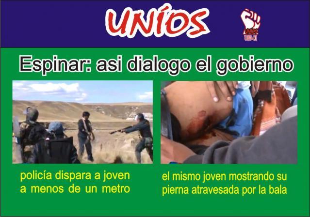 Perú: la represión del gobierno de Ollanta Humala contra protesta antiminera en Espinar dejó dos muertos y varios heridos graves