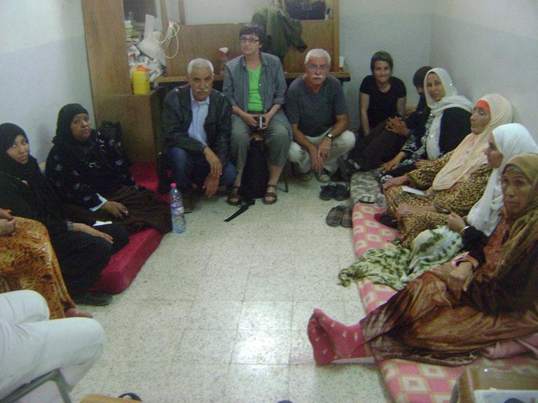 Solidaridad internacional con los huelguistas de hambre en Redeyef, Túnez