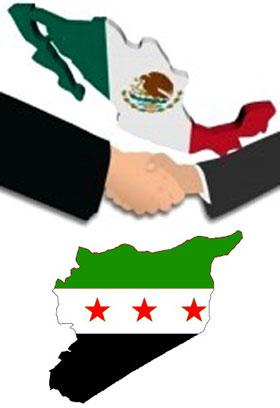 Mexico se solidariza con el pueblo Sirio