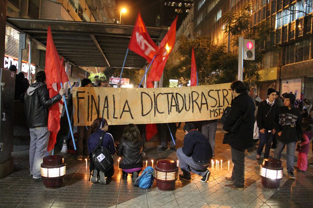 Chile: acto de repudio a las masacres de la dictadura de Al Assad y en apoyo a la rebelión populer siria