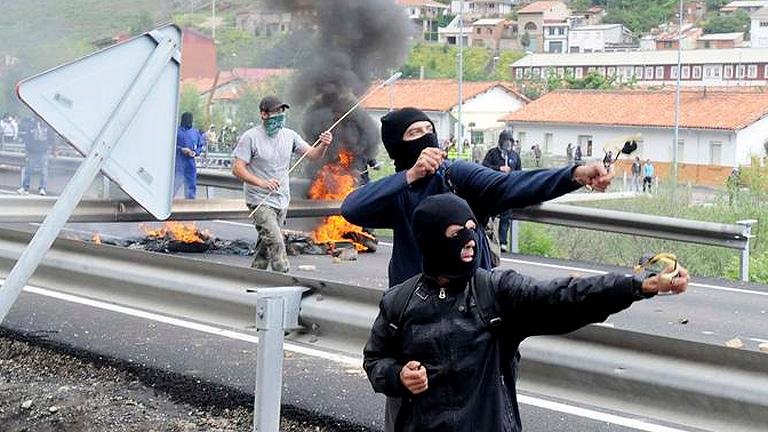 Estado Español: los mineros hacen retroceder a las fuerzas policiales