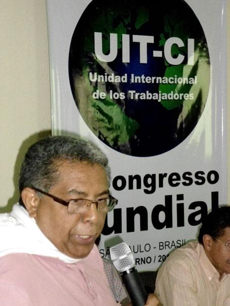 Orlando Chirino candidato a Presidente de Venezuela por el PSL