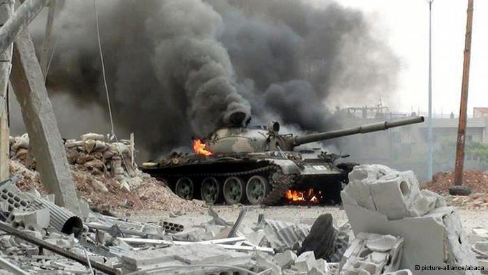 Siria: ya se comabte en las calles de Damasco muy cerca del palacio presidencial