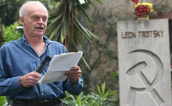Esteban Volkov Bronstein, nieto de León Trotsky, adhiere a campaña internacional en apoyo a Orlando Chirino