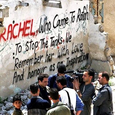 Rachel Corrie: Año tras año en Palestina y en el mundo entero se la recuerda de modos creativos e inspiradores, como en murales colectivos que llevan su rostro