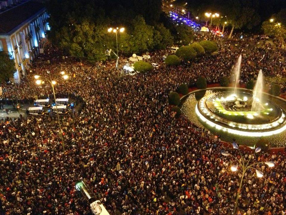 Estado Español: Inmensa manifestación en Madrid contra los planes de austeridad de Rajoy.