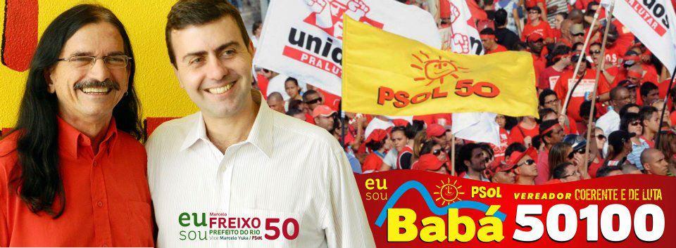 Baba Freixo CST PSOL