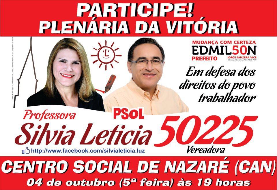 Silvia Leticia Vereadora PSOL