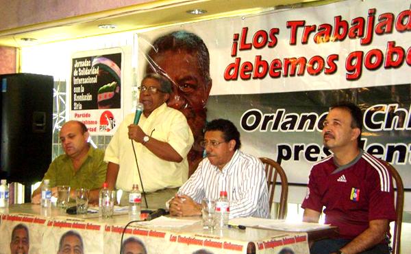 """Tras las elecciones las luchas continúan y las acompañaremos para que triunfen"""", Orlando Chirino"""