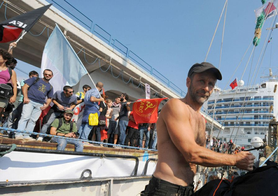 Mika, el Capitán del Estelle rumbo a Gaza
