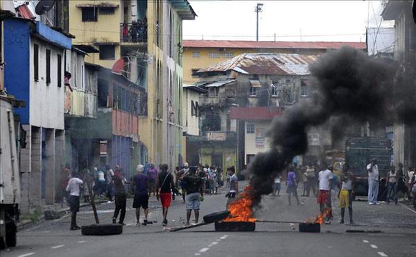 Panmá: rebelión popular en Colón contra el gobierno