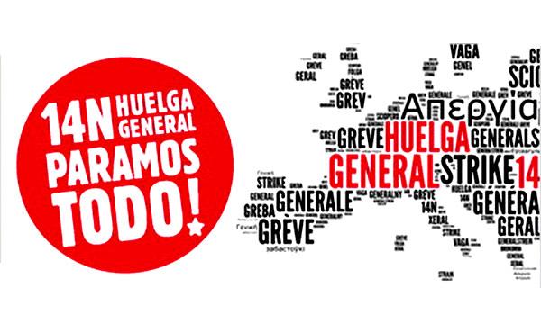 Declaración sobre Europa ante la crisis y la huelga del 14N