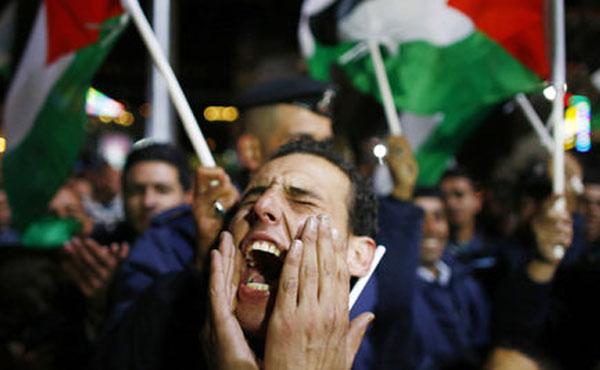 Millones de palestinos salieron a festejar en Gaza y Cisjordania además de miles de activistas en todo el mundo