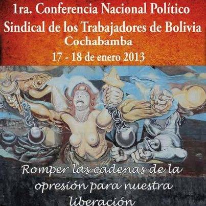 Bolivia Conferencia Politico Sindical