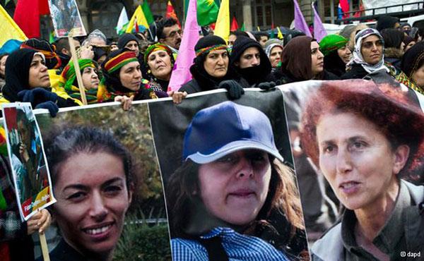 Sakine, Fidan y Leyla, como otros miles, eran luchadoras kurdas contra la opresión que este pueblo está sufriendo desde hace décadas