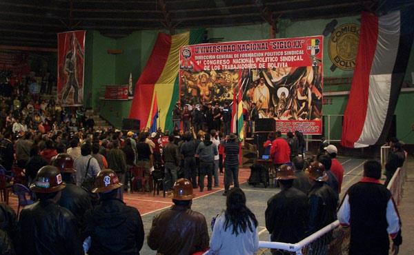 Bolivia: Gran Congreso convocado por la COB funda el Partido de los Trabajadores