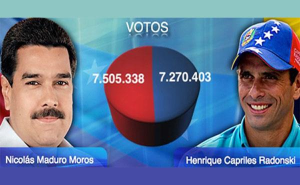 El país atraviesa por una grave crisis política, como consecuencia del estrecho margen por el cual Nicolás Maduro, candidato del Psuv y el Polo Patriótico, se impuso al candidato de la MUD, Henrique Capriles Radonski.