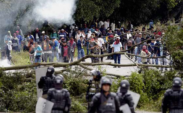 COLOMBIA: APOYO a la LUCHA DE LOS CAMPESINOS DEL CATATUMBO