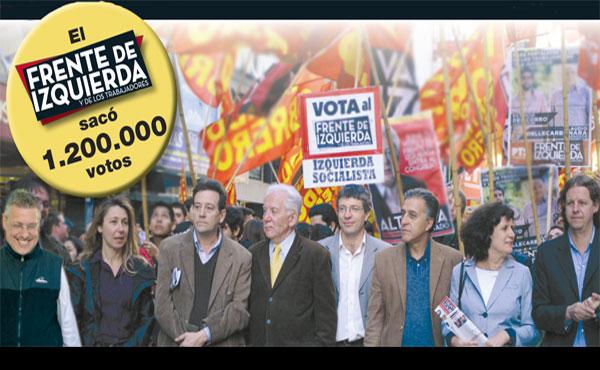 Una elección histórica de la izquierda en Argentina