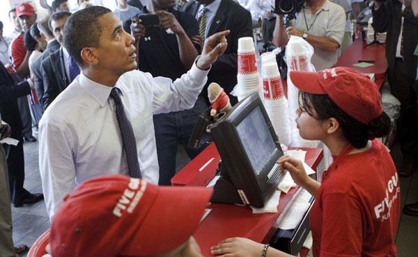 Obama en problemas