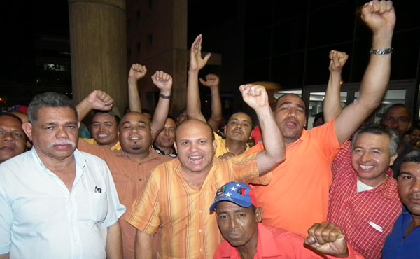 ¡Liberaron a José Bodas y a otros dirigentes petroleros de Venezuela!