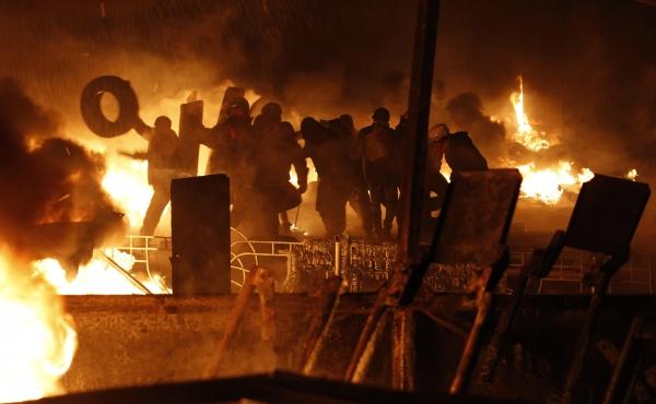 Ucrania: rebelión popular ante crisis económico social