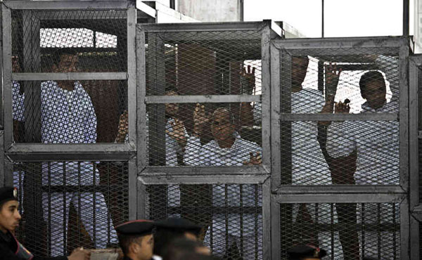 On March 24 the aberrant sentence of an Egyptian court was confirmed, giving the death penalty to 529 political activists of the Muslim Brotherhood.