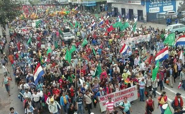 El Secretario de la Central Nacional de Trabajadores, Juan Torales aseguró que lograron un 90 % de acatamiento con la huelga.