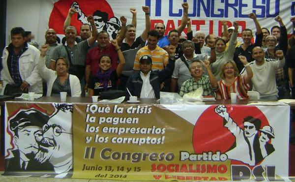 Finalizó exitosamente el II Congreso del Partido Socialismo y Libertad de Venezuela