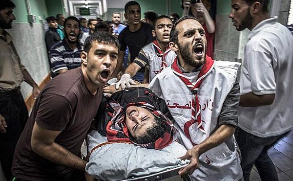 El ejército israelí sigue masacrando al pueblo palestino. Ya se registran más de 700 muertos y miles de heridos, una cuarta parte niños, más del 80% civiles no combatientes. Fueron asesinadas familias completas con misiles, aviones, artillería desde aire, tierra y mar