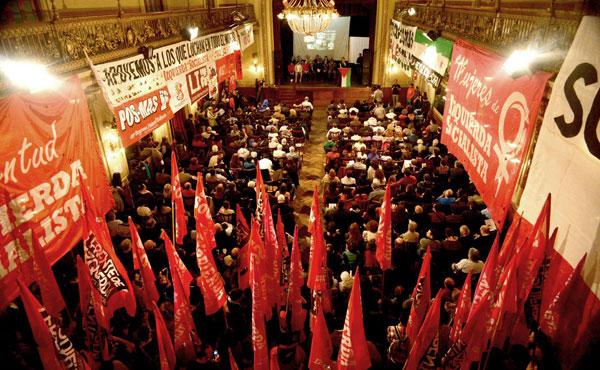 Uno a uno los oradores de 13 países defendieron la lucha del pueblo palestino.