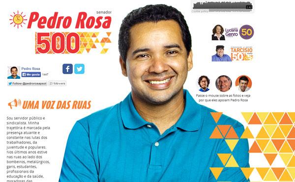 Pedro Rosa, de 43 añoss, es un trabajador estatal de la Universidad Federal Fluminense hace 20 años y dirigente del sindicato