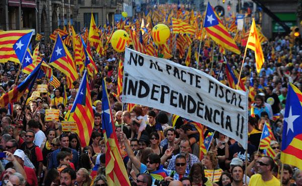 Estado español: referéndum por la independencia de Cataluña ¡Votar ruptura con  el Estado Monárquico!
