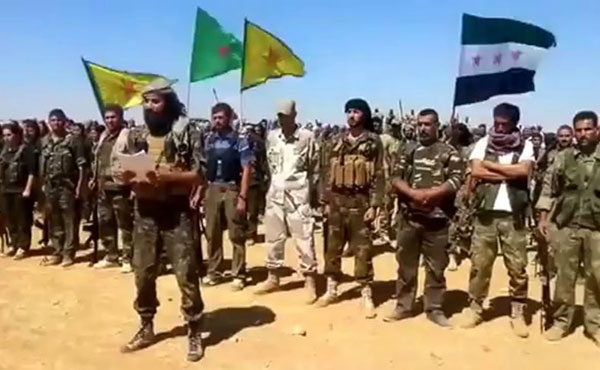 The command of the Kurdish People's Protection Units (YPG) announced in a press release (19 October) an agreement with units of the Free Syrian Army to fight together in Kobani and elsewhere in Syria.