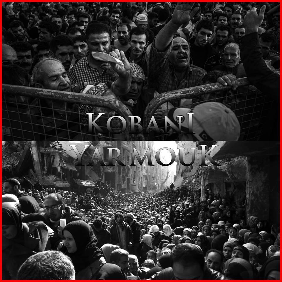 Nadie puede creer que a EEUU, la UE, Rusia, Irán o Arabia Saudí les importe lo más mínimo la suerte de los habitantes de Kobane, como no les importa nada la de los habitantes de Deir al Zour o la de los de Al-Waer, en Homs